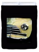 Yellow Chevrolet Duvet Cover