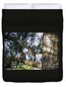 Night Heron  Duvet Cover