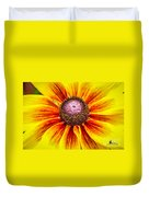 Yellow Daisy Duvet Cover