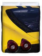 Yellow F430 Duvet Cover