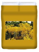 Yellow Trees  Duvet Cover