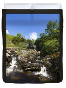 Yorkshire Dales Waterfall Duvet Cover