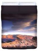 Zabriskie Point Death Valley Duvet Cover