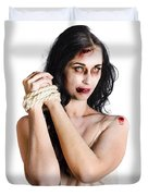 Zombie Tied Up Duvet Cover