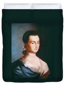 Abigail Adams (1744-1818) Duvet Cover