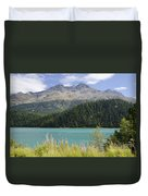 Alpine Lake Duvet Cover