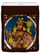 Atahualpa, Last Emperor Of The Incan Duvet Cover