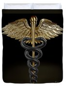Caduceus Duvet Cover