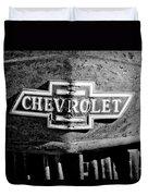 Chevrolet Grille Emblem Duvet Cover