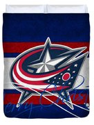 Columbus Blue Jackets Duvet Cover
