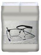 Eyeglasses Duvet Cover