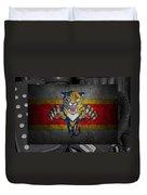 Florida Panthers Duvet Cover