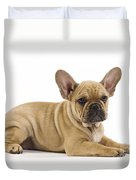 French Bulldog Puppy Duvet Cover