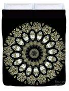 Kaleidoscope Ernst Haeckl Sea Life Series Duvet Cover
