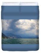 Lago Di Iseo Duvet Cover