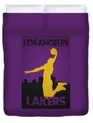 Los Angeles Lakers Duvet Cover