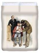 Louis Pasteur (1822-1895) Duvet Cover