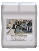 Mary, Queen Of Scots (1542-1587) Duvet Cover