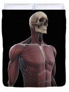 Muscles Of The Upper Body Duvet Cover