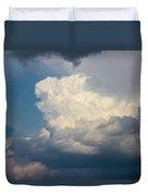 Nebraska Storm Cells A Brewin Duvet Cover