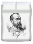 Robert Koch (1843-1910) Duvet Cover