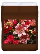 Rose Parade  Duvet Cover
