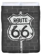 Route 66 Shield Duvet Cover