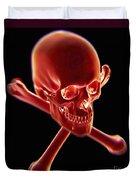 Skull And Crossbones Duvet Cover