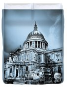 St Paul's Cathedral London Art Duvet Cover
