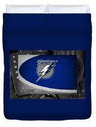 Tampa Bay Lightning Duvet Cover