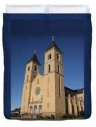 Victoria Kansas - Cathedral Of The Plains Duvet Cover