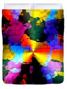 1000 Abstract Thought Duvet Cover
