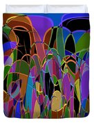 1009 Abstract Thought Duvet Cover