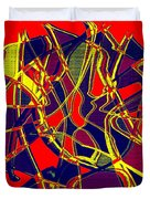 1010 Abstract Thought Duvet Cover
