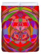 1015 Abstract Thought Duvet Cover