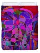1016 Abstract Thought Duvet Cover