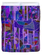 1022 Abstract Thought Duvet Cover