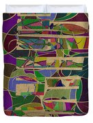 1023 Abstract Thought Duvet Cover