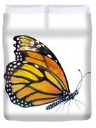 103 Perched Monarch Butterfly Duvet Cover by Amy Kirkpatrick