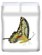 104 Perched Swallowtail Butterfly Duvet Cover