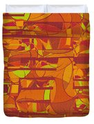 1045 Abstract Thought Duvet Cover