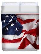 American Flag 34 Duvet Cover