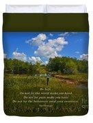 109- Kurt Vonnegut Duvet Cover