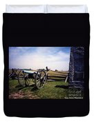10th Mass Battery - Gettysburg Duvet Cover