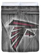 Atlanta Falcons Duvet Cover by Joe Hamilton