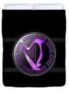 Celtic Harp Duvet Cover