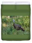 Eastern Wild Turkey Duvet Cover
