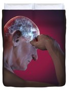 Head Pain Duvet Cover