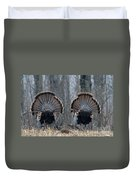 Jake Eastern Wild Turkeys Duvet Cover