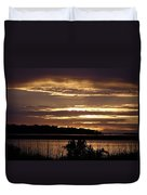 Outer Banks North Carolina Sunset Duvet Cover